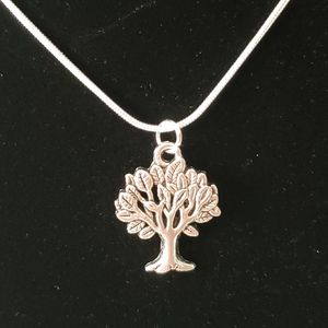 """Tree of Life  22"""" \ .925 Sterling Silver Necklace"""